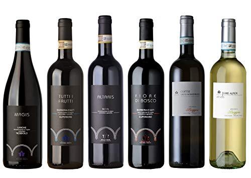 Boggero Bogge Wine - selezione Barbera D'Asti Superiore - Nizza - Nebbiolo- Cortese - Arneis 6 bott 0,75L