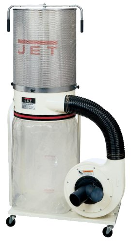 Jet DC-1200VX-CK3 Dust Collector 2HP 3PH 230/460-Volt 2-Micron Canister Kit