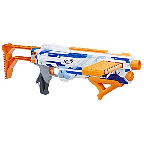 Hasbro C2779 Nerf N-Strike Elite Battlescout ICS-10 Armbrust Gewehr Darts, Mehrfarbig