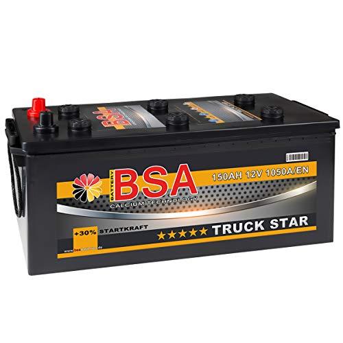 LKW Batterie 150Ah 12V 1000A/EN Starterbatterie statt 125AH 135AH 140AH Schlepper Traktor