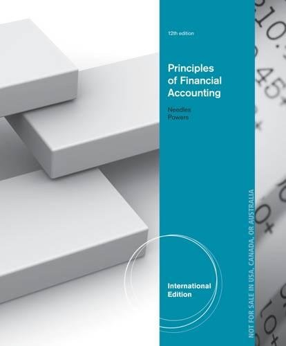 Principles of Financial Accounting, International Edition PDF Books