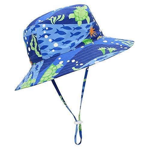 Century Star Baby Sun Hats UPF 50+ Wide Brim Sun Hat for Baby Boys Girls Cute Summer Beach Bucket Hat Toddler Sun Hats Sea World 2-4T