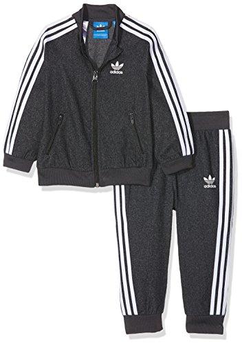 adidas I SST Twill broek, kinderen, I SST Twill, grijs (grijs/wit)