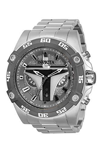 Invicta Star Wars - Mandalorian 34987 Reloj para Hombre Cuarzo - 52mm