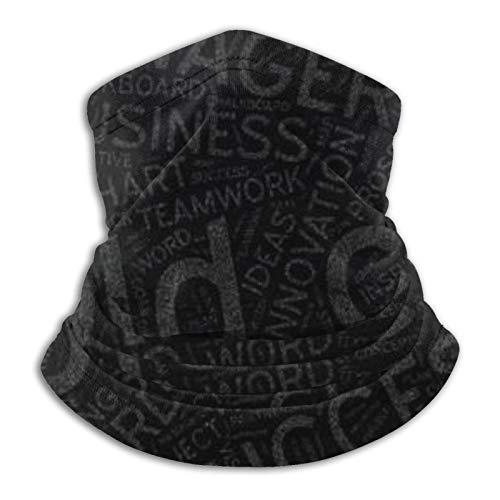Cold Call On Blackboard Ma-Sk Unisex Microfibra Cuello Calentador Cara Ma-Sk Cuello Polaina Cara Bufanda Pasamontañas Bandana Guardia de Seguridad