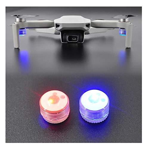 CUEYU LED Flash Volg Luce per DJI Mavic Mini Drone, 2 pezzi Night Search Strobe, luce di segnalazione lampeggiante LED compatibile con DJI Mavic Mini
