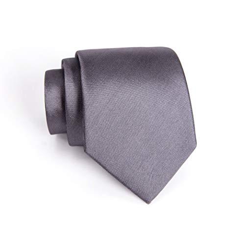 Massi Morino ® Seidenkrawatten für Herren - handgenähte Krawatte grau graue graufarben hellgrau grauekrawatte grey steingrau greytie klassischekrawatte