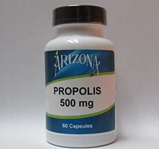 Arizona Brand Bee Propolis Capsules - 500mg - 60 Capsules - Dietary Supplement - Arizona Brand Nutritionals
