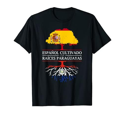 Español Cultivado con raíces Paraguayas - Paraguay Camiseta