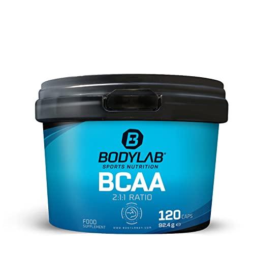 Bodylab24 -   Bcaa 120 Kapseln,