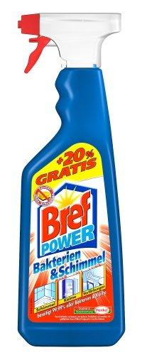 Bref Power Reiniger Bakterien & Schimmel Mehrmenge +20%, Bad Reiniger, 900 ml (750+150 ml)
