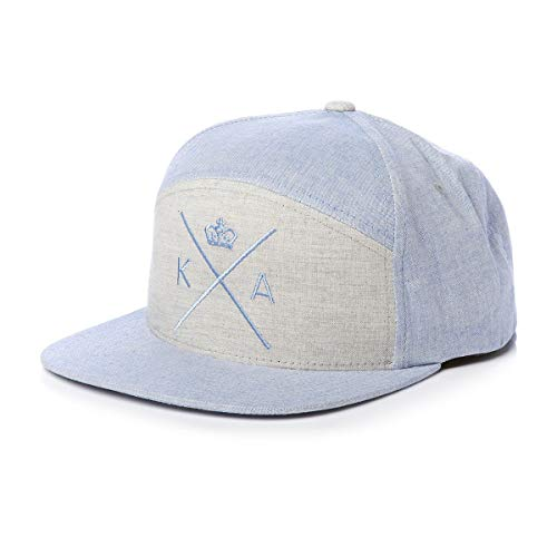 Insignia Cap Blue King Apparel Cap Snapback Baseball Cap Size Adjustable