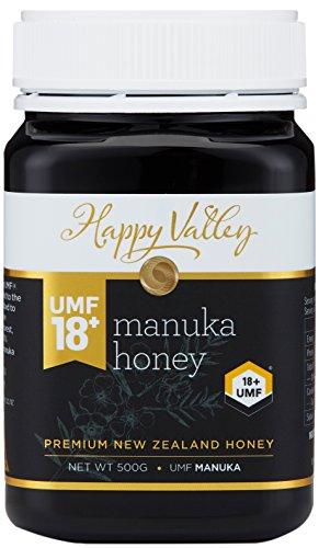 Happy Valley UMF 18+ Manuka Honing (MGO 696+), 500g (17.6oz)
