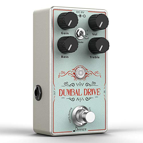 Donner Island Delay Pedal de Guitarra, Multifuncional Delay Looper Pedal Efectos Pedal, Múltiple 10 World-Class Delay 7 Segundos Looper