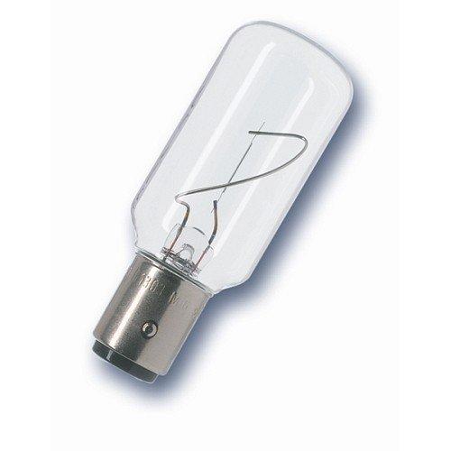 RADIUM Signallampe für Schiffspositionslaternen, 24 Volt, klar, Form E, Sockel BAY15d 25 Watt