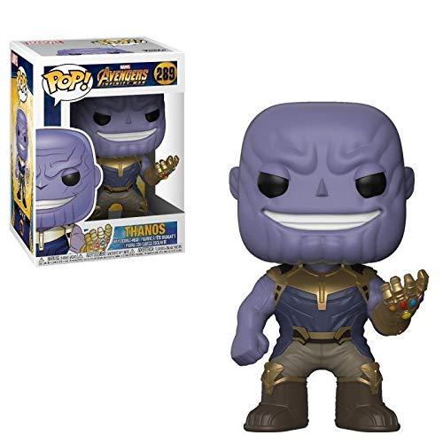 B-Creative Funko Pop The Avengers Infinity War Thanos - Figura de Vinilo, Juguete para niños, la Mejor Caja de Regalo de Reino Unido (Thanos Toy)