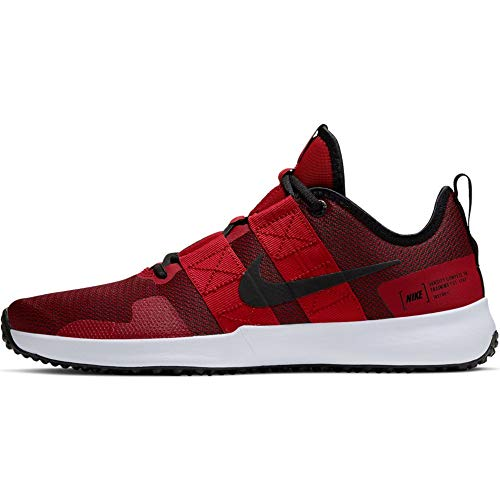 Nike Varsity Compete TR Mens Training Shoe (Red/Black, Numeric_10_Point_5)