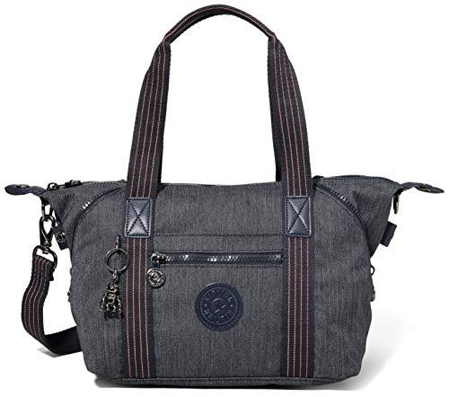 Kipling Damen Art Mini Taschen mit Tragegriff, Blau (Active Denim), Einheitsgröße