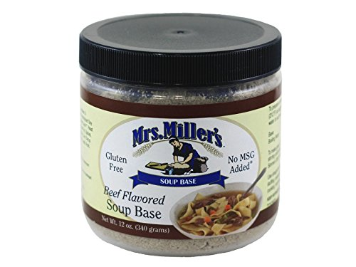 Mrs Millers Homestyle Beef Soup Base 2-12 oz Jars / Gluten Free No MSG