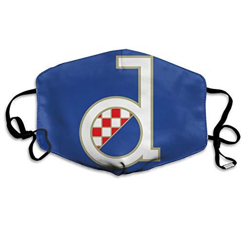 GNK Dinamo Zagreb - Pañuelo para la cara, ajustable, transpirable, antipolvo, repetición de la boca, ejercicio matutino