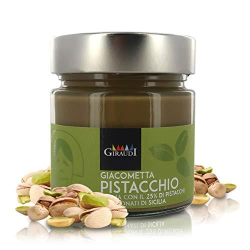 Crema de Pistacho para Untar, producción Artesanal, 200 gr - Giacometta al Pistacchio di Sicilia