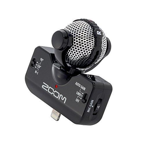 ZOOM Professional Stereo Microphone iQ5 黒