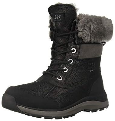 UGG Women's Adirondack Boot III Boot, Black, 11
