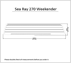 Sea Ray 270 Weekender Swim Platform Pad 1/4
