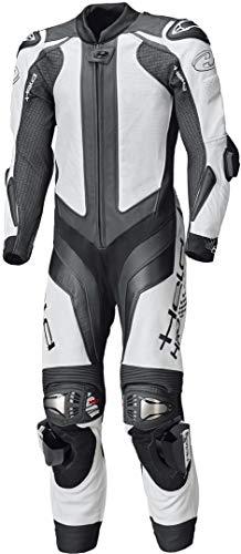Held Race-Evo II 1-Teiler Motorrad Lederkombi Weiß/Schwarz 58