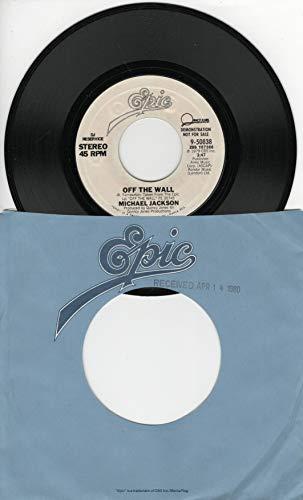 Michael Jackson: Off the Wall (3:47 Stereo Version) B/w Off the Wall (Same 3:47 Stereo Version)