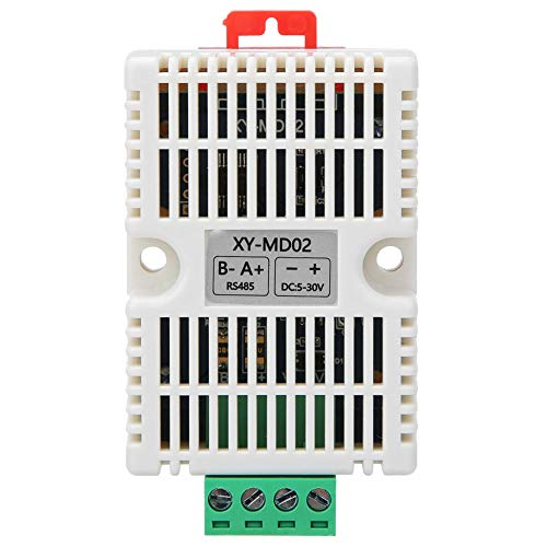 La temperatura Humedad Transmisor, con El plastico, Metal Configurado, Defecto 9600 0~80% Rh Digital La temperatura