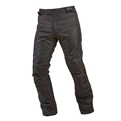 GERMAS 393.01-56-2XL Motorradhose HURRICANE MAN, Schwarz, Gröߟe 2XL/56