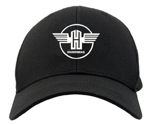 Bimaxx® Oldtimer Kappe | Hanomag | schwarz