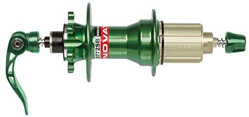 Novatec Hradnabe MTB Disk Schnellspanner SUPERLIGHT 4 in 1 32Loch grün Fahrrad