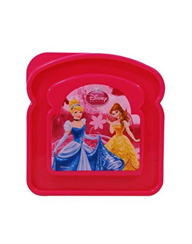 Disney Princess MÄDCHEN Schule, Kindergarten Lunch Snake BROTTASCHE GESCHENKBOX, PINK