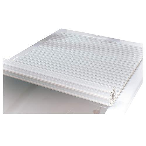 LIQICAI Plegable Bañera Cubierta, Bandejas De Bañeras Plegables Impermeables para Home Hotel Gym, Diseño Robusto, Tamaño 6 (Color : White, Size : 160cmX80cmX1.2cm)