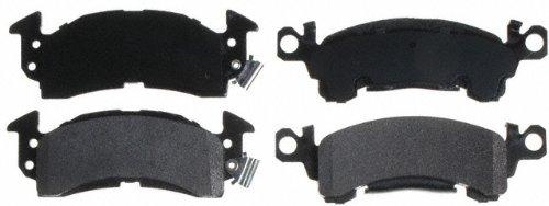 Raybestos SGD52M Service Grade Semi-Metallic Disc Brake Pad Set