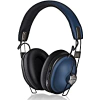 Panasonic RP-HTX90N Retro Noise Canceling Bluetooth Wireless Headphone (Indigo Navy Blue)