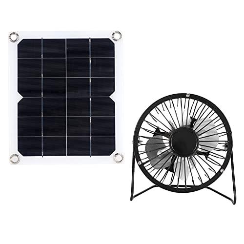 Jopwkuin Conjunto de Paneles solares, Panel Solar de Alta eficiencia de energía Solar para Turismo para baterías de automóviles