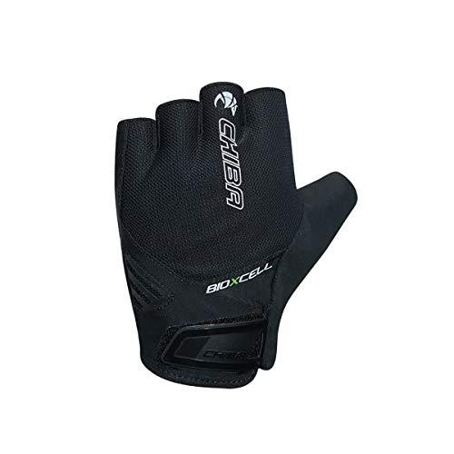 Chiba BioXCell Air Fahrrad Handschuhe kurz schwarz 2021: Größe: L (9)