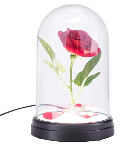 Paladone Products Ltd Disney Beauty and The Beast Enchanted Rose Light