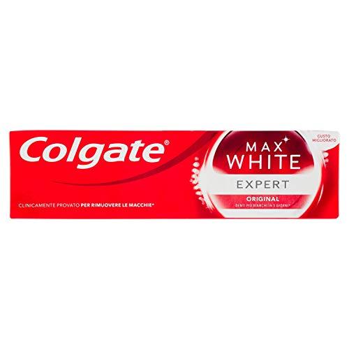 Colgate Max White Expert White Zahnpasta, 4er Pack (4 x 75 ml)