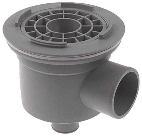 Jemi - Cuerpo de aspiración para lavavajillas GS-83H, GS-83M, GS-102, A-2980-TDI, salida 36 exterior 150 mm, altura 150 mm