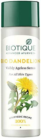 Biotique Bio Dandelion Visibly Ageless Serum, 190ml product image