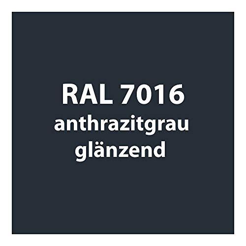 Streichlack Streich Lack Farbe 1K * Premium Qualität * 1 Liter (RAL 7016 anthrazit-grau glänzend)