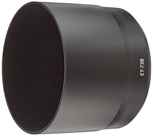 CELLONIC® Parasol ET-73B Compatible con Objetivo Canon EF 70-300mm f/4-5.6L IS USM Capilla Cámara, Cubierta del Objetivo, Visera Parasoles