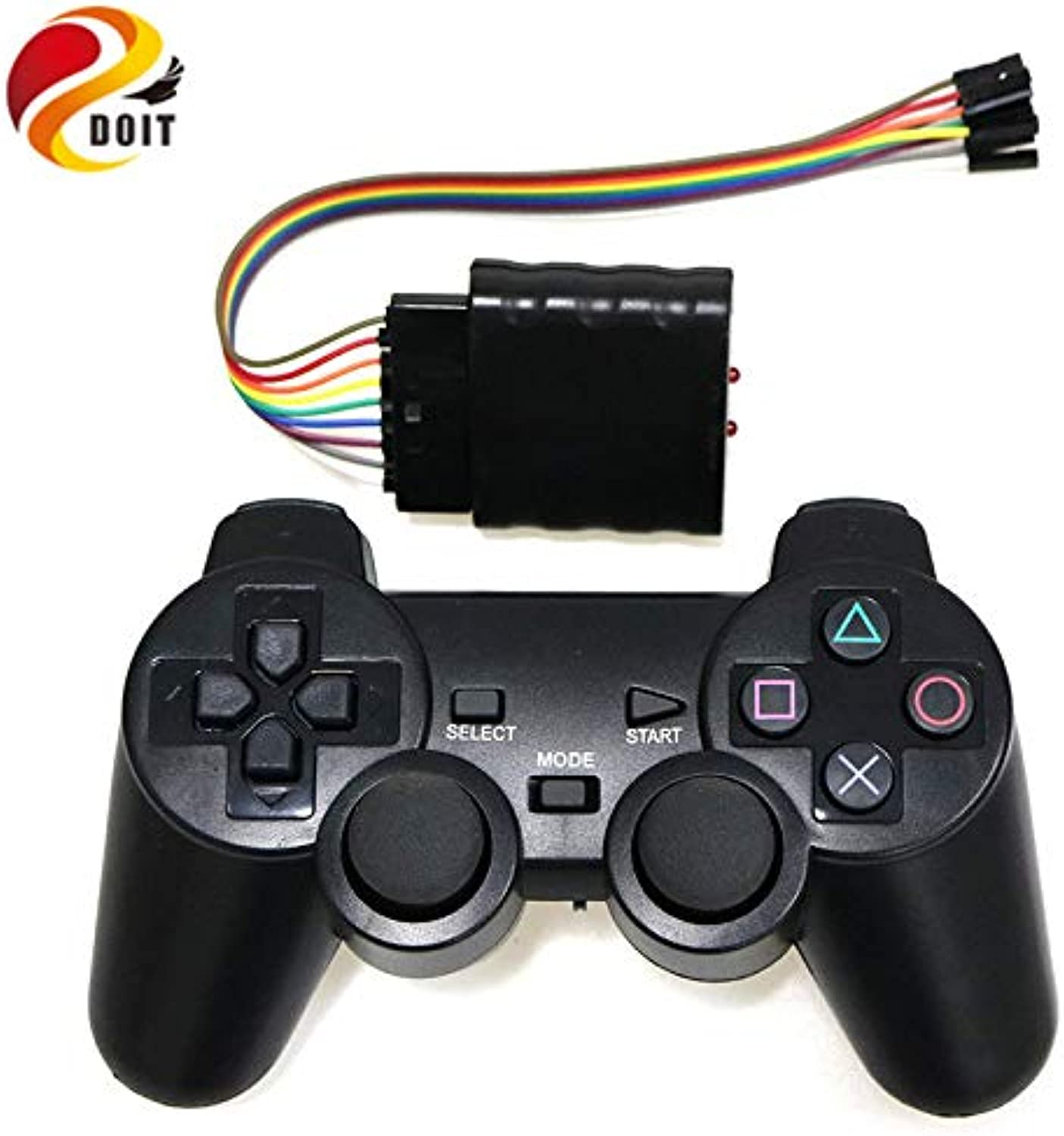 Generic DOIT Robot Dedicated Wireless Remote Control  Supporting Supporting Supporting 32 Channel Servo Controller ps2 Handle  Remote 3 Wire with 3 pin RC Toy aae3b3