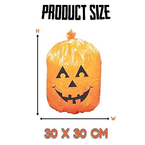THE TWIDDLERS Confezione da 25 Buste di Halloween. Ideali per Feste di Halloween, Decorazioni e Oggetti di Scena