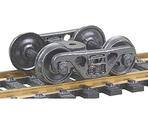 "HO ASF 100Ton Truck, 36"" Smooth Wheels (1pr) -  Kadee, 513"
