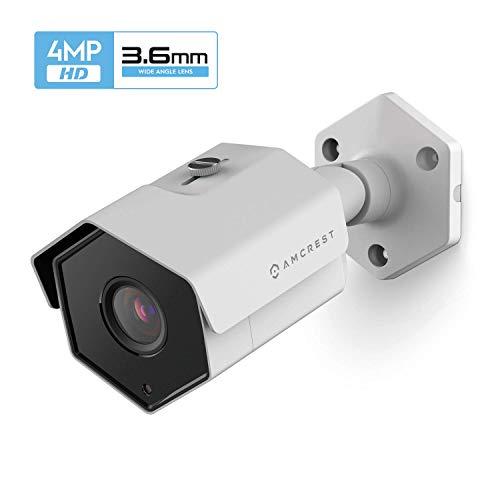 Amcrest UltraHD 4MP IP POE Überwachungskamera für den Außenbereich 2688x1520p, IP67 im Außenbereich, wetterfest, 3,6 mm Objektiv, 87 ° Betrachtungswinkel, 98 ft Nachtsicht, IP4M-1026EW-36MM (Weiß)